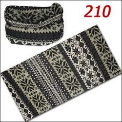 دستمال سر و گردن زمستانی پلار C210