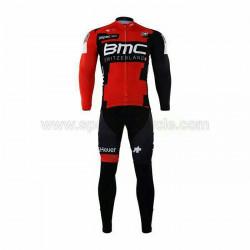 پیراهن آستین بلند و شلوار دوچرخه سواری BMC