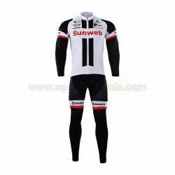 پیراهن آستین بلند و شلوار تیم دوچرخه سواری جانیت سان وب