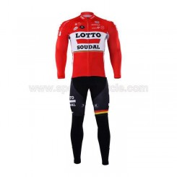 پیراهن آستین بلند و شلوار دوچرخه سواری لوتو سودال