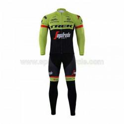 پیراهن آستین بلند و شلوار دوچرخه سواری TREK سبز