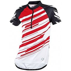 پیراهن آستین کوتاه دوچرخه سواری مردانه کریوت قرمز