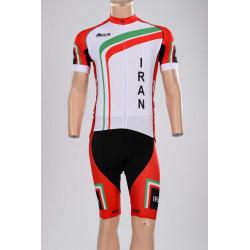 ست لباس سرعت دوچرخه سواری تیم ملی ایـران