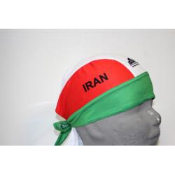 دستمال سر زنانه طرح پرچم ملی ایران (قایقرانی - بدنسازی - دو میدانی- کاراته - تکواندو - کبدی)