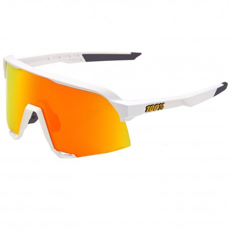 100% S3 sunglasses - Soft tact white