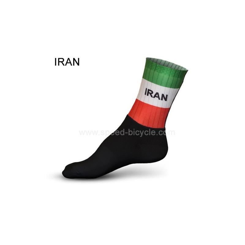 جوراب دوچرخه سواری تیم ایران