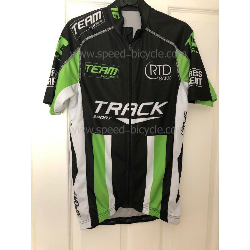 پیراهن تک دوچرخه سواری کارنی تراک سبز مشکی