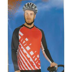 پیراهن دوچرخه دانهیل - کارنی قرمز