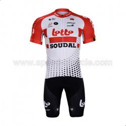 پیراهن و شورت تیم دوچرخه سواری لوتو سودول