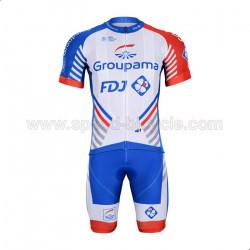 پیراهن و شورت تیم دوچرخه سواری FDJ