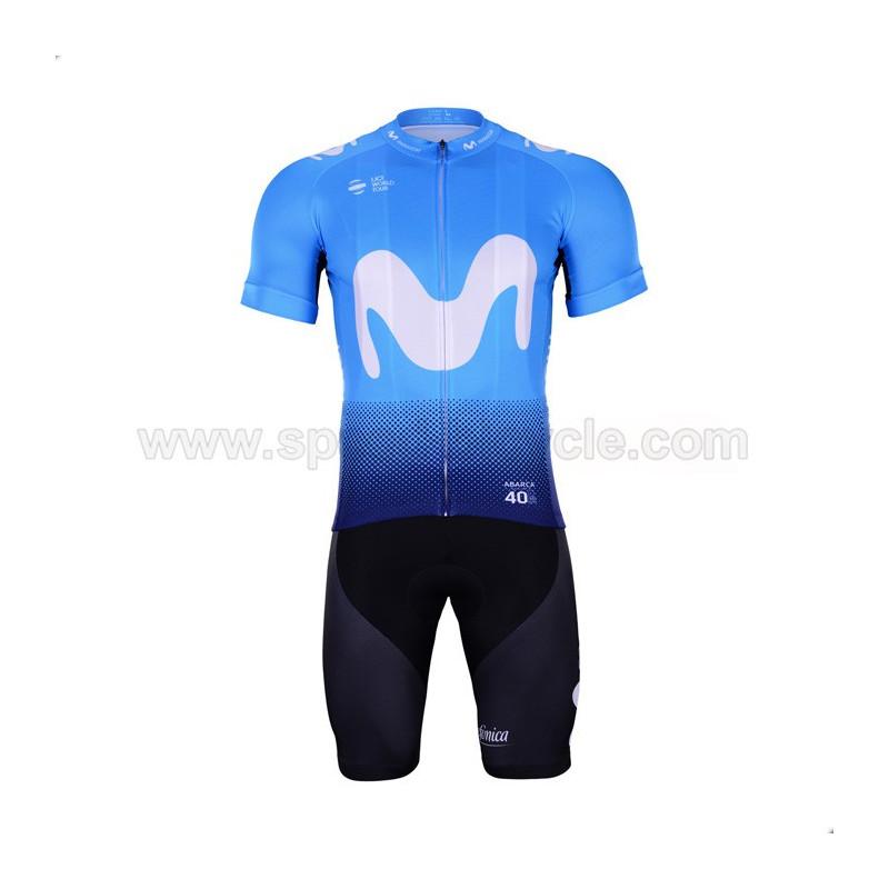 پیراهن و شورت تیم دوچرخه سواری Movistar