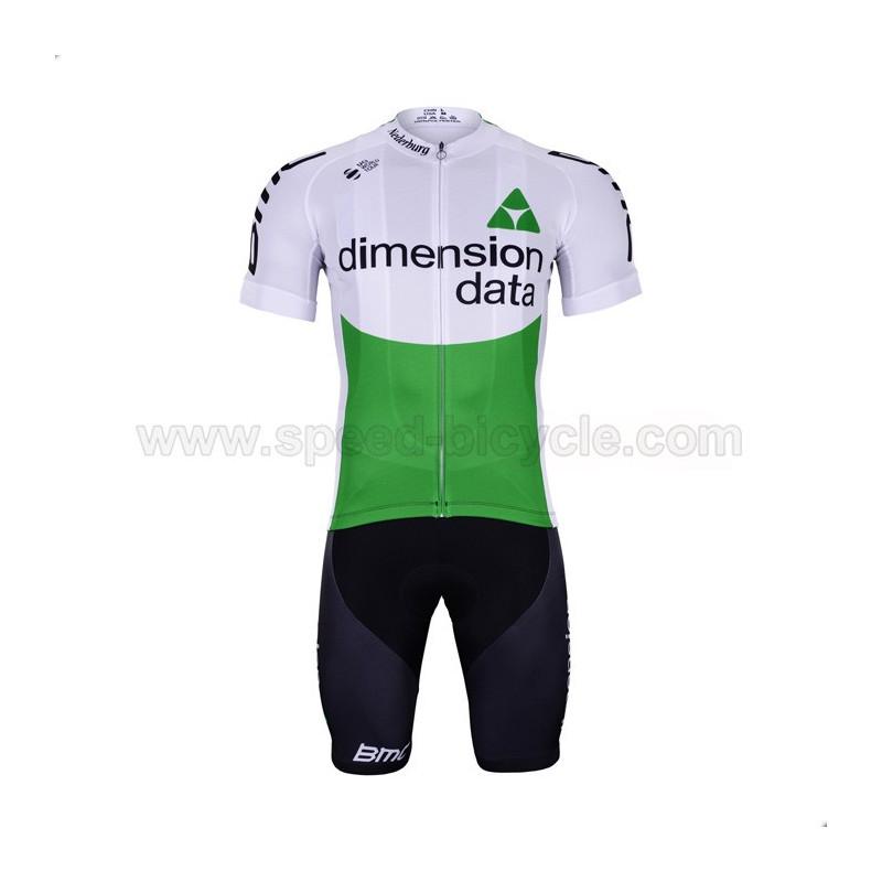 پیراهن و شورت تیم دوچرخه سواری Dimension Data