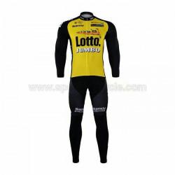 پیراهن و شلوار دوچرخه سواری لوتو جانبو دوبند سایز M
