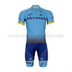 ست پیراهن و شورت دوچرخه سواری تیم آستانا