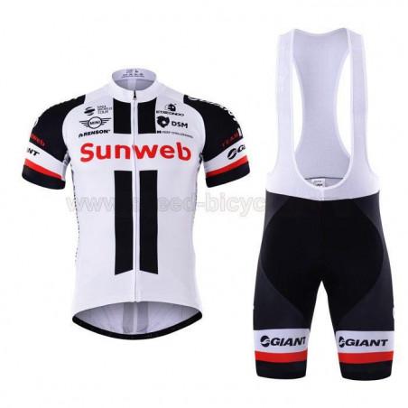 پیراهن و شورت دوچرخه سواری تیم SUNWEB