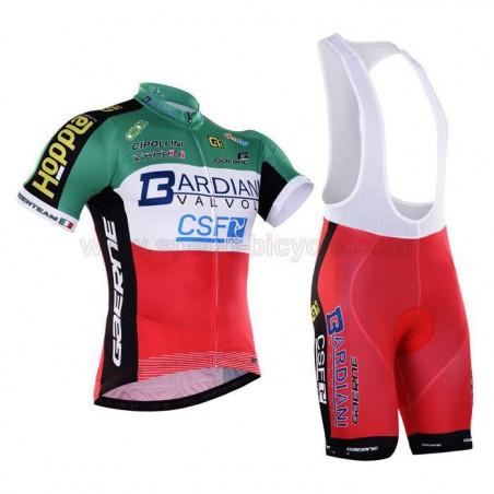 پیراهن و شورت دوچرخه سواری تیم Bardiani