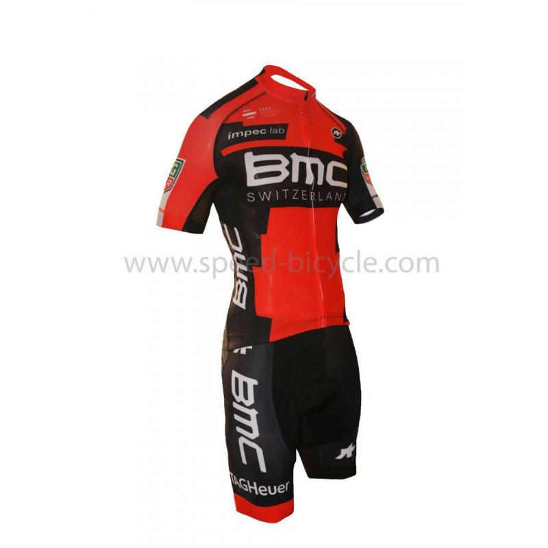 پیراهن و شورت دوچرخه سواری BMC